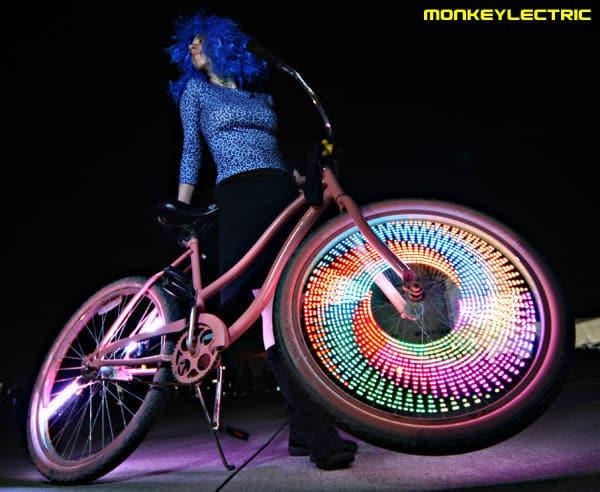 Световое украшение для велосипеда