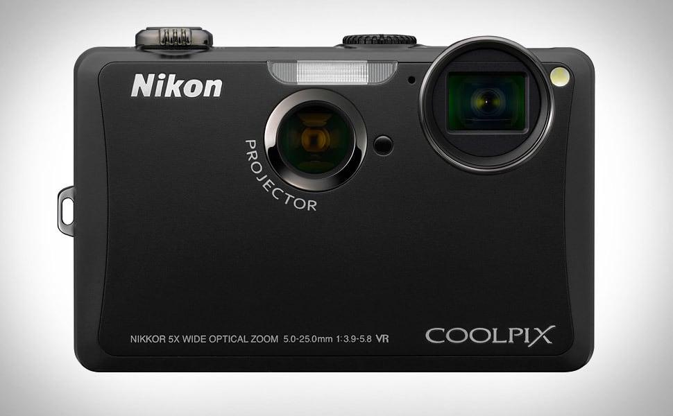 Nikon Coolpix S1100pj фотоаппарат с проектором