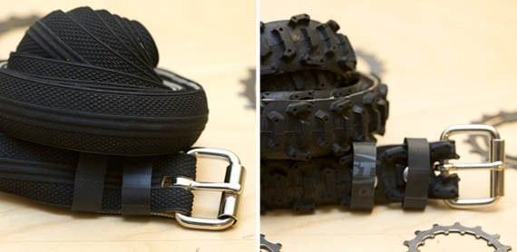 Ремень из велосипедных покрышек