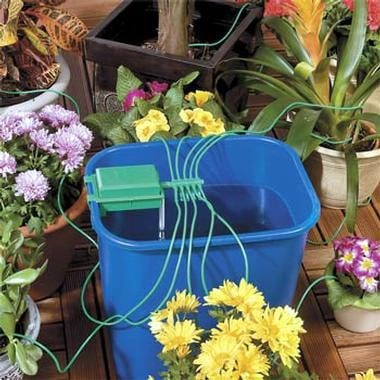 Система полива комнатных цветов