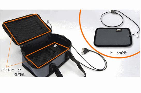 Thanko Obento - сумка для обеда с USB-подогревом