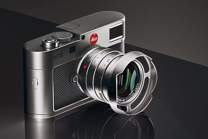 Эксклюзивная камера Leica M9 Titanium