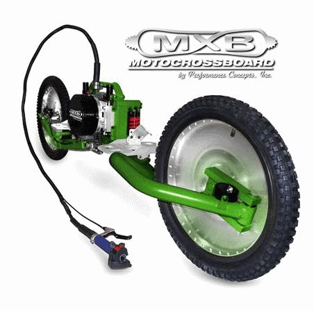 Моторизованный скейт MXB Shocker