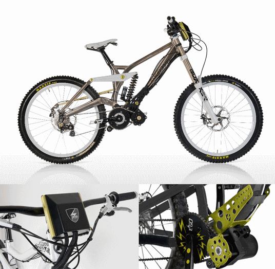 Электромотор для горных велосипедов Ego