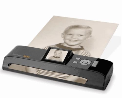 Портативный сканер с функцией предпросмотра