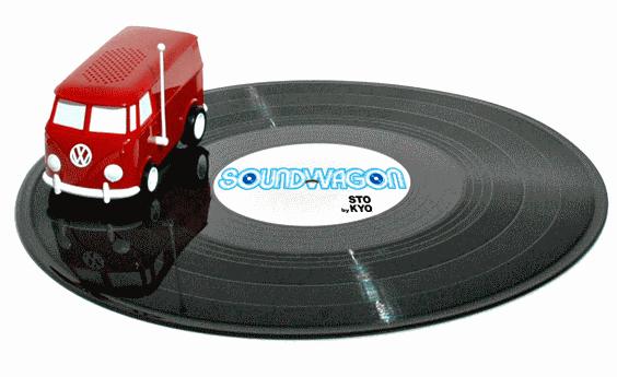 Портативный проигрыватель виниловых пластинок Soundwagon
