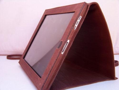 Кожаный чехол для iPad Vintcase