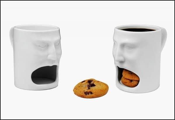 Кофейная кружка-лицо