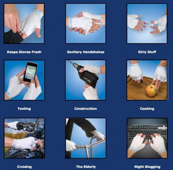 Перчатки Handerpants
