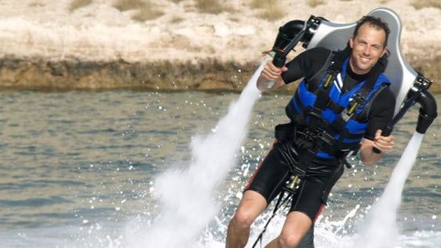 Реактивный рюкзак Jetlev Flyer
