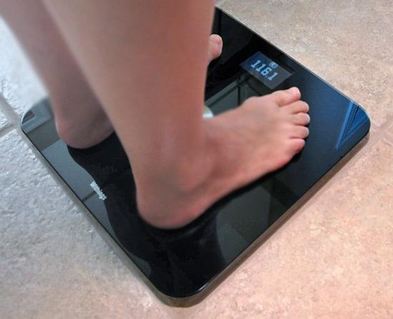 Напольные весы с WiFi-модулем