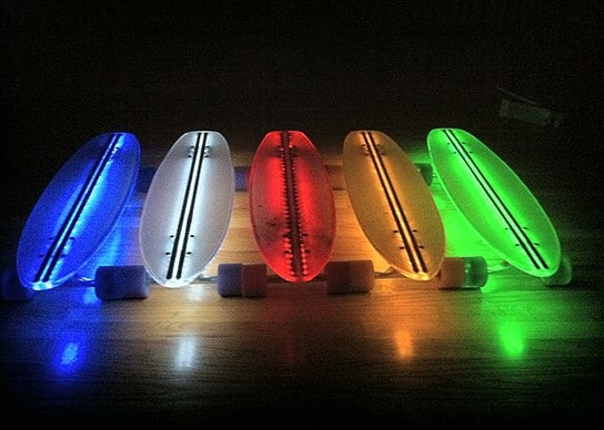 Скейтборд с подсветкой