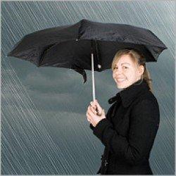 Мини-зонт с титановым каркасом