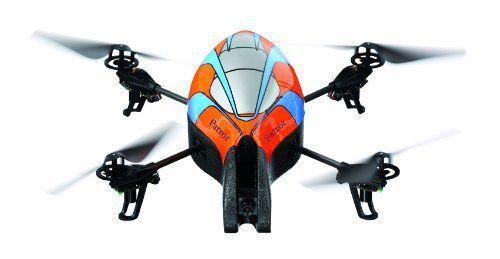 Четырехвинтовой вертолет Parrot AR.Drone, совместимый с iPod touch/iPhone/iPad
