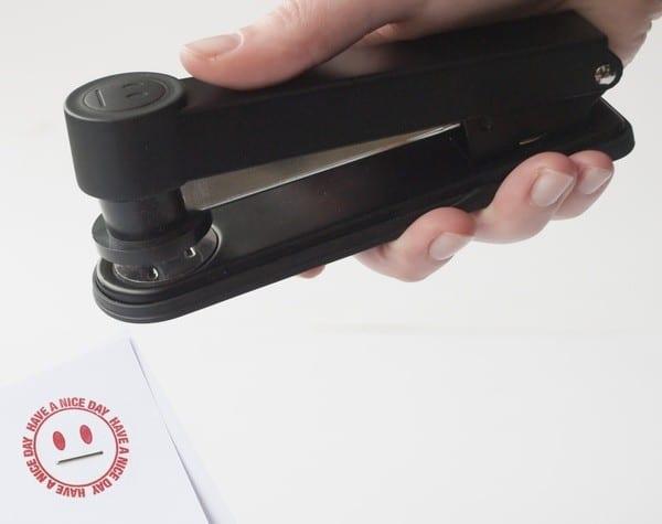Степлер-печать