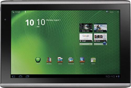 10-дюймовый планшет Acer Iconia
