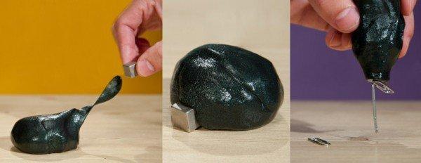 Умный магнитный пластилин