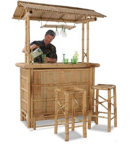Гавайский бамбуковый бар