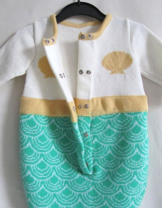 Детская пижама-русалочка