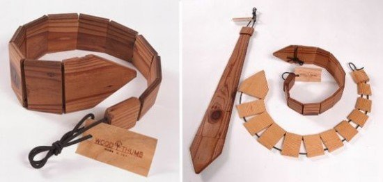 Деревянный галстук