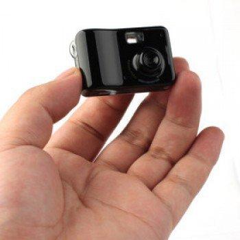 Мини-видеокамера с датчиком движения