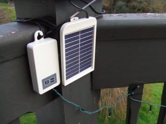 Гирлянда подсветки с солнечной батареей