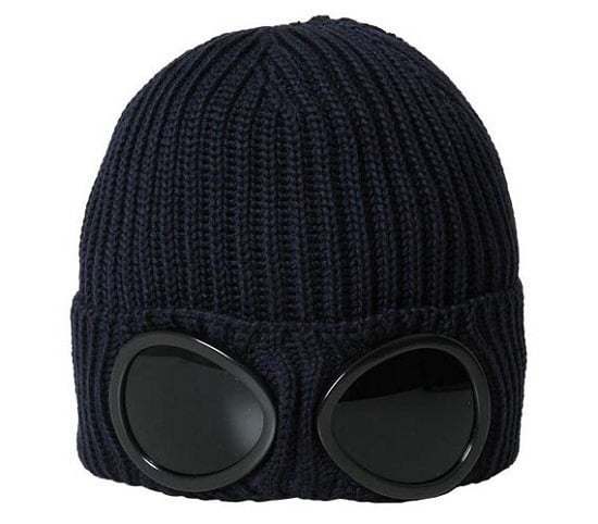 Вязаная шапка с очками C.P. Company