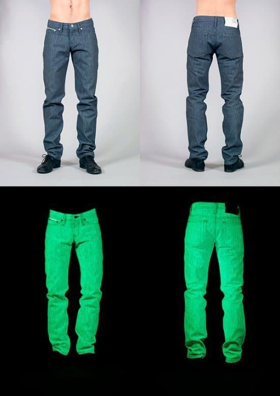 Светящиеся джинсы