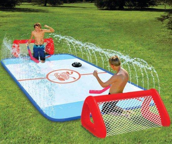 Площадка для водяного хоккея