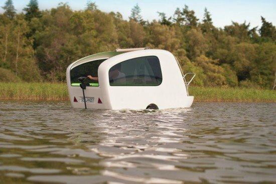 Дом-лодка на колесах Sealander