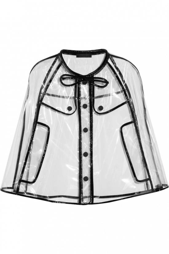 Прозрачный дождевик Burberry Prorsum