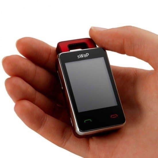 Самый маленький сотовый телефон в мире