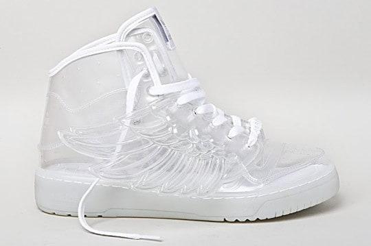 Прозрачные кроссовки The Adidas Originals JS Wings