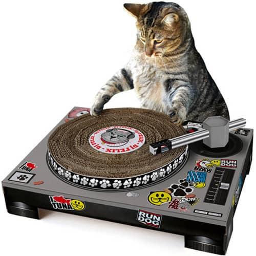 DJ Cat Scratch Turntable для вашего питомца