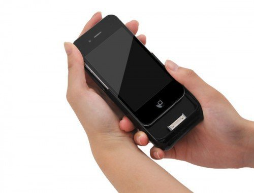Карманный чехол-проектор для iPhone 4 Монолит