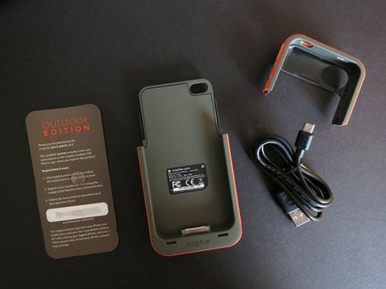 Чехол для iPhone Mophie Juice Pack Plus Outdoor Edition
