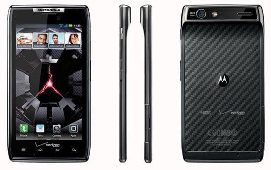 Ультратонкий смартфон Motorola DROID RAZR