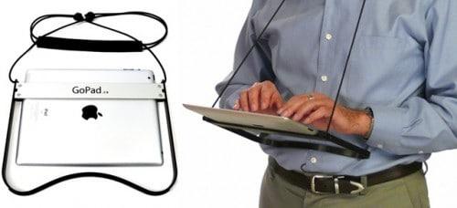 Приспособление для планшетного компьютера GoPad