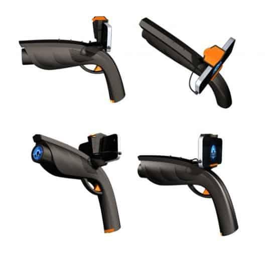 Игровой манипулятор для смартфонов XAPPR gun