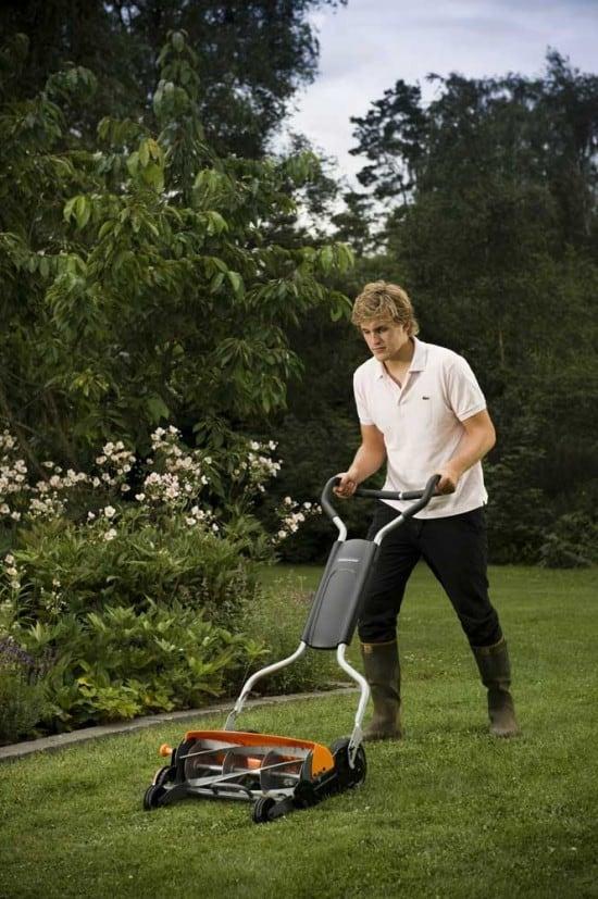 Экологическая газонокосилка StaySharp™ Max Reel