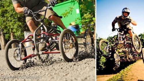 Четырехколесный велосипед Contes Engineering Athos