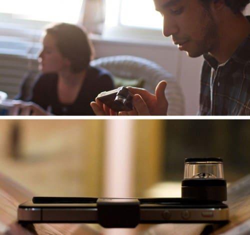 Насадка для камеры iPhone для съемки панорамного видео