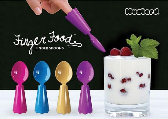 Finger Food Fun Spoons
