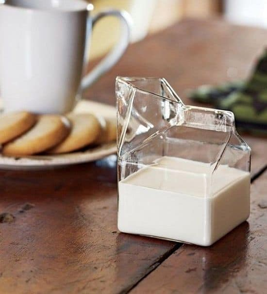 Half Pint Unusual Milk Jug