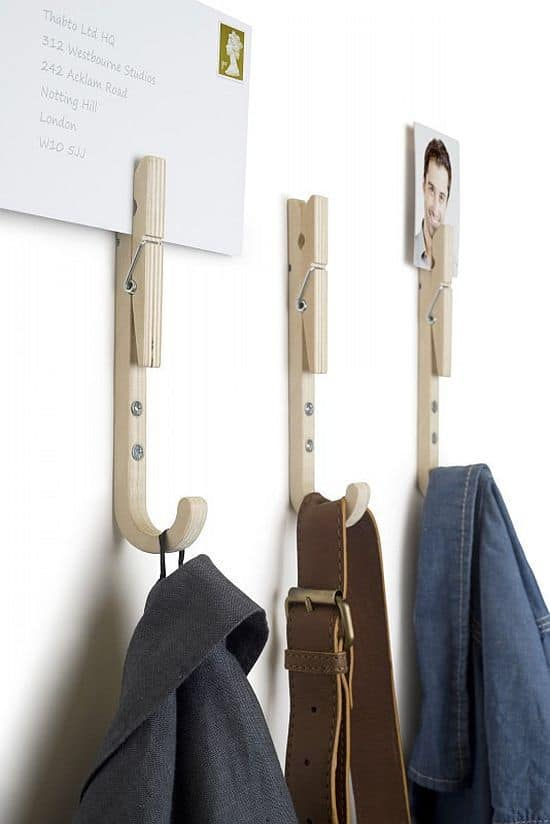 Jpegs Wooden Coat Hooks 3 Pack