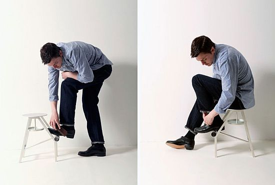 Shoe-stool by Case Real