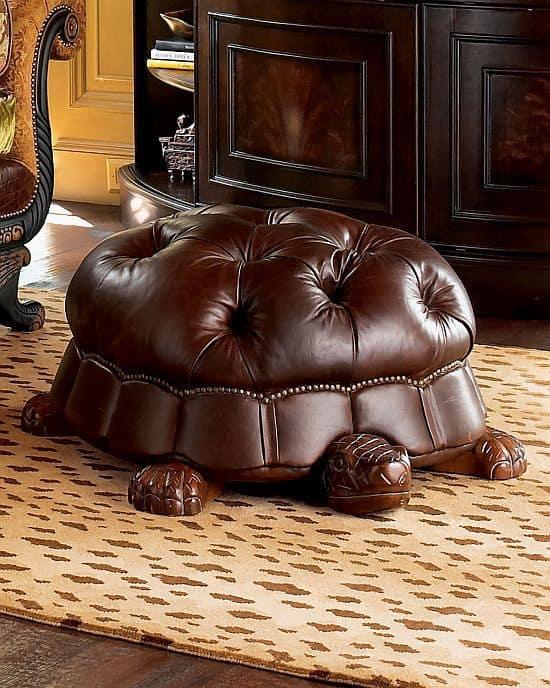 turtle foot stool
