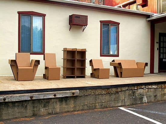 Refoldable Cardboard Furniture