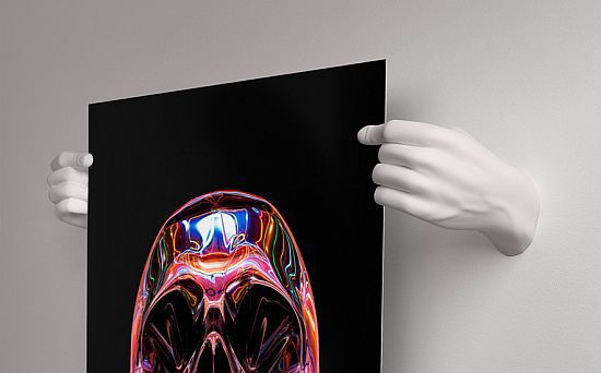 Handvas Poster Holder