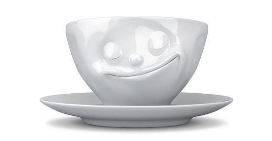 Happy Tea Cup